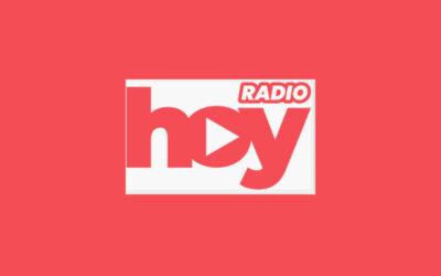 """Entrevista Radio Hoy, programa """"La mañana"""""""